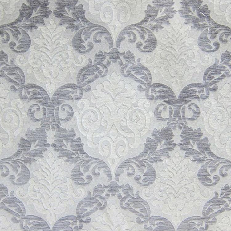 Silver Damask Upholstery Fabric Hautehousefabric Com
