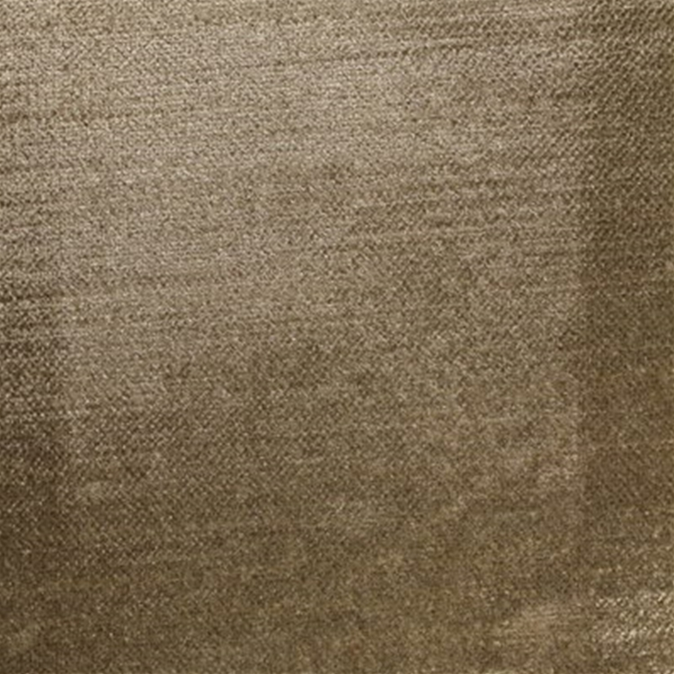 Taupe Brown Velvet Designer Upholstery Fabric Majesty