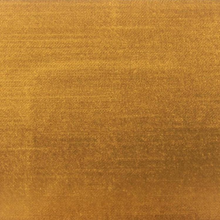 Antique Gold Velvet Designer Upholstery Fabric Imperial