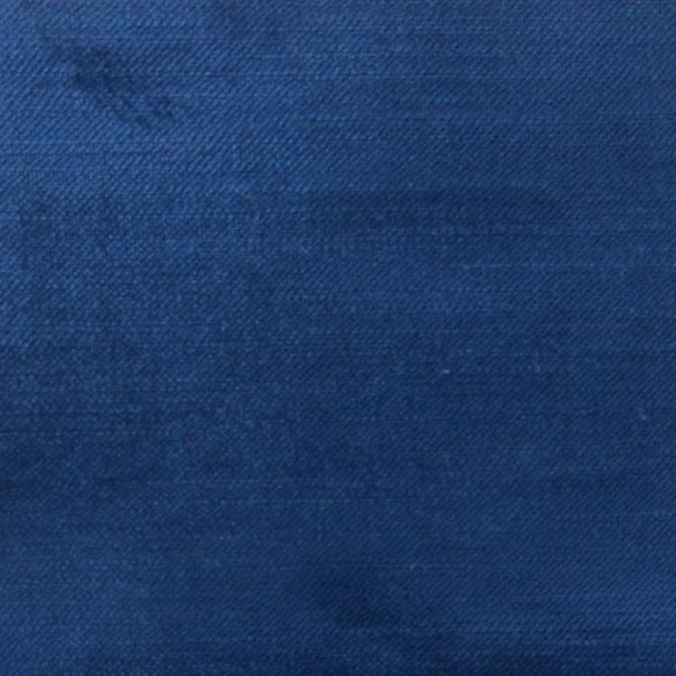 Navy Blue Velvet Designer Upholstery Fabric Imperial