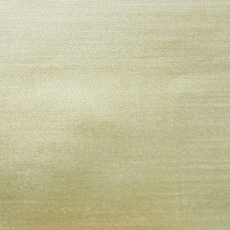 Light Yellow Velvet Designer Upholstery Fabric Imperial