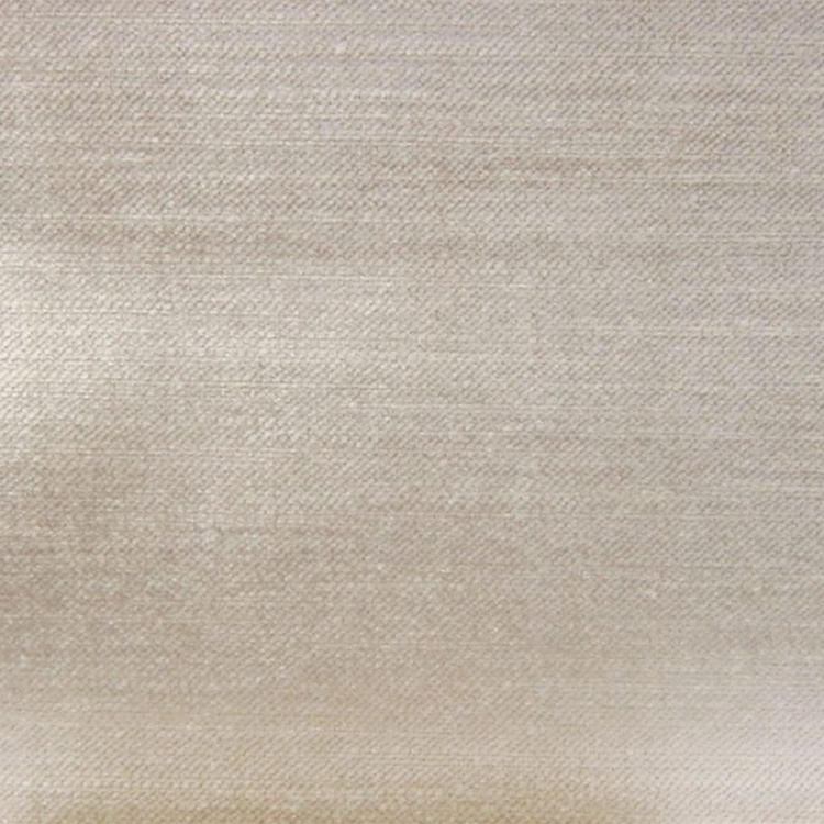 Light Cream Velvet Designer Upholstery Fabric Imperial