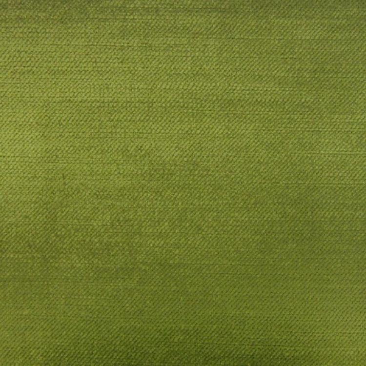 Lime Green Velvet Designer Upholstery Fabric Imperial