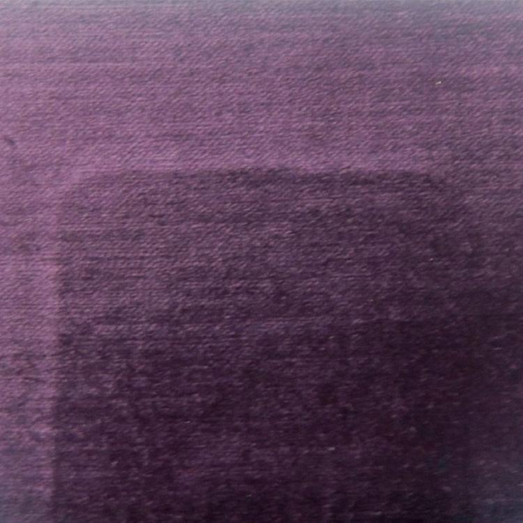 Dark Purple Velvet Designer Upholstery Fabric Imperial