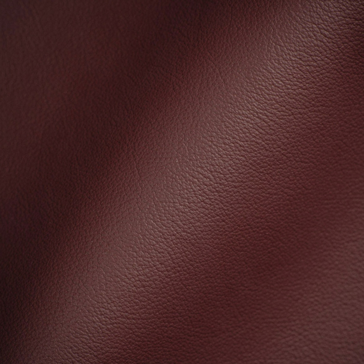 Burgundy Leather - Upholstery Fabric - HauteHouseFabric.com