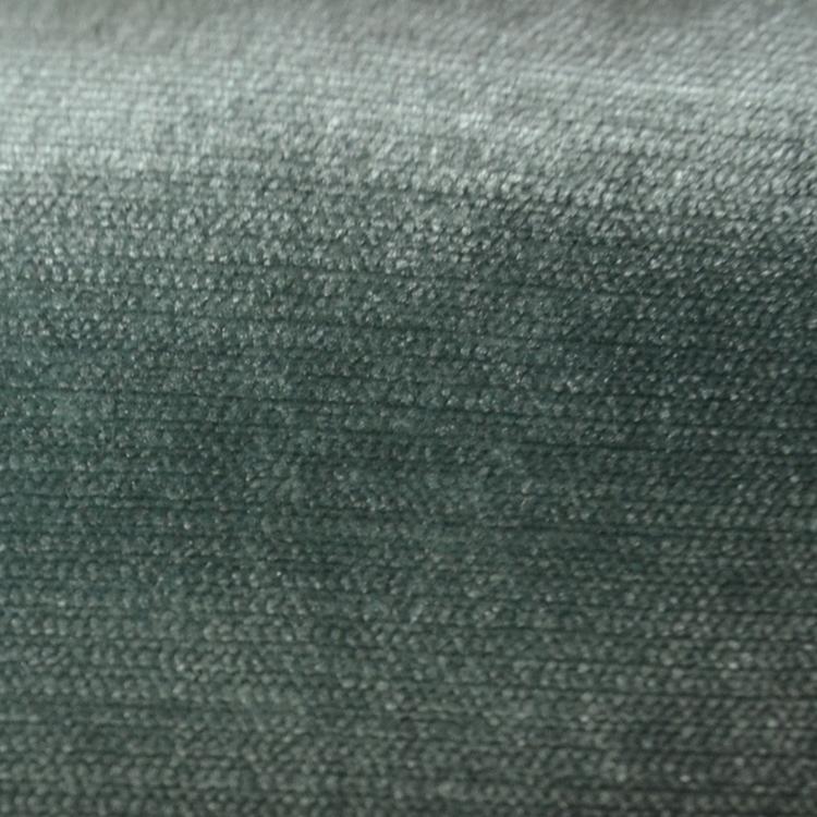 Seafoam Green Velvet Designer Upholstery Fabric Shimmer