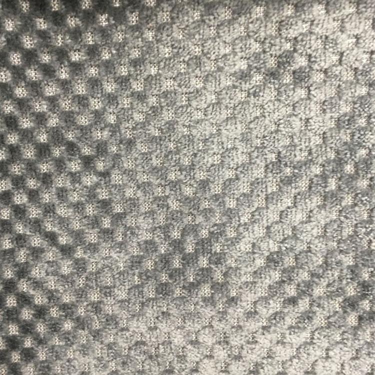 Slate Gray Check Plaid Fabric Upholstery Fabric Hautehousefabric Com