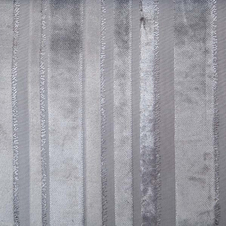 Tiret Silver Stripe Fabric Upholstery Fabric Hautehousefabric Com