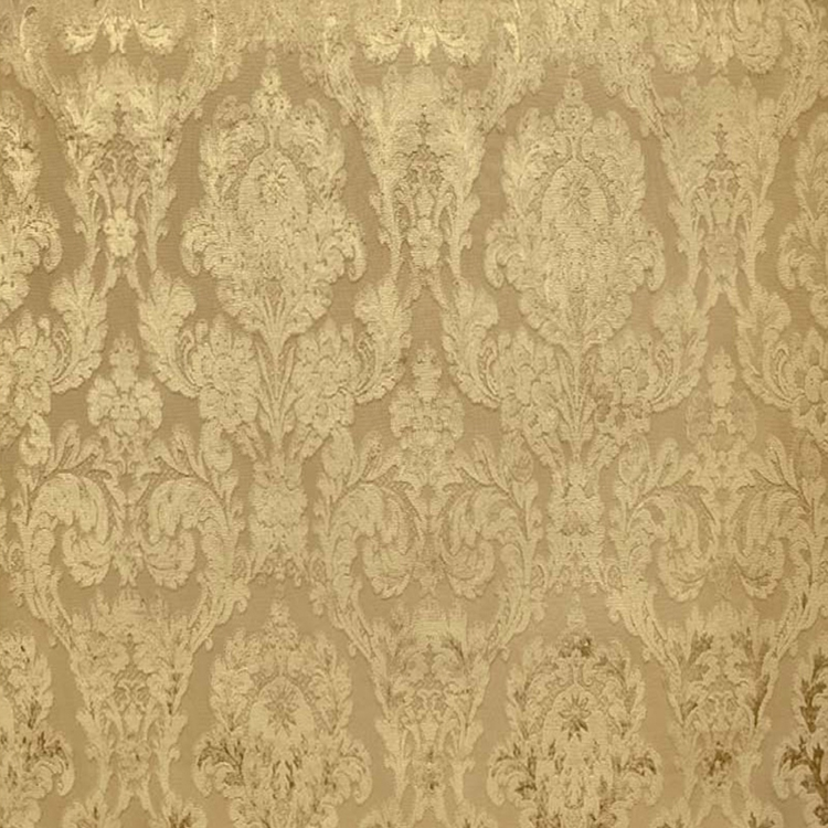 Fiora Gold Damask Fabric Upholstery Fabric Hautehousefabric Com