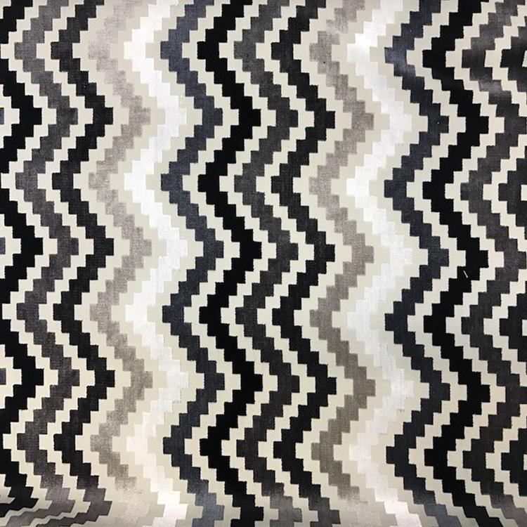 Iggy Gray Chevron Fabric Upholstery Fabric Hautehousefabric Com