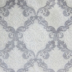 Haute House Fabric - Alexis Silver - Chenille Damask #1991