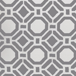 Haute House Tropicana Gray Outdoor Fabric