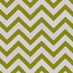 Haute House Mod Stripe Apple Outdoor Fabric