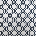 Haute House Fabric - Honeycomb Black - Woven #2834
