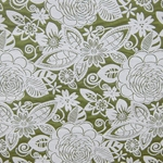 Haute House Fabric - Fiesta Apple - Floral #2862