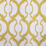 Haute House Fabric - Mila Sunshine - Geometric Upholstery Fabric