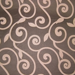 Haute House Fabric - Rene Espresso - Brown Contemporary Fabric