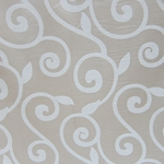 Haute House Fabric - Rene Ivory - Contemporary Fabric