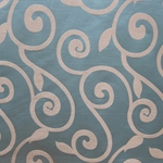 Haute House Fabric - Rene Pewter - Contemporary Fabric