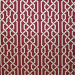 Haute House Fabric - Celt Cherry - Linen Fabric #2931