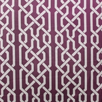 Haute House Fabric - Celt Plum - Linen Fabric #2940
