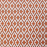Haute House Fabric - Flip Flop Orange - Outdoor Woven Fabric #2953