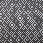 Haute House Fabric - Alto Espresso - Woven Geometric Fabric #2996