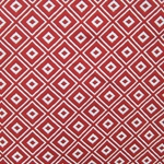 Haute House Fabric - Alto Red - Woven Geometric Fabric #3000