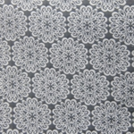 Haute House Fabric - Pizelles Grey - Geometric Woven Fabric #3018