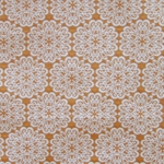 Haute House Fabric - Pizelles Orange - Geometric Woven Fabric #3020