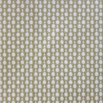 Haute House Fabric - Pearls Latte - Woven Circle Fabric #3047