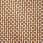 Haute House Fabric - Pearls Orange - Woven Circle Fabric #3048