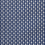 Haute House Fabric - Pearls Blue - Woven Circle Fabric #3050