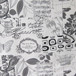Haute House Fabric - En Route Charcoal - Novelty Fabric #3057