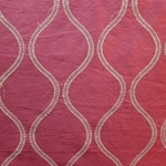 Haute House Fabric - Hour Glass Cranberry - Novelty Fabric #3074