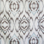 Haute House Fabric - Bismark Truffle - Ikat Fabric #3124