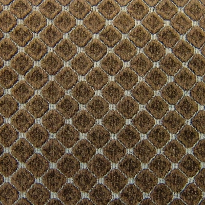 Haute House Fabric - Cobblestones Chocolate - Chenille Fabric #3157