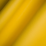 Haute House Fabric - Elegancia Canary - Leather Upholstery Fabric #3226
