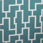 Haute House Fabric - Puzzled Peacock - Woven Fabric #3262