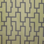 Haute House Fabric - Puzzled Pear - Woven Fabric #3263