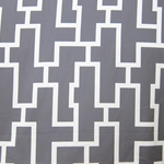 Haute House Fabric - Puzzled Pewter - Woven Fabric #3264