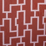 Haute House Fabric - Puzzled Spice - Woven Fabric #3266