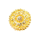 Haute House Home | Accessories | Bling | Brooches | Grand Gold Brooch