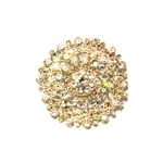 Grand Silver Brooch | Accessories | Bling | Brooches | Haute House Fabric