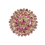 Grand Pink Brooch | Accessories | Bling | Brooches | Haute House Fabric