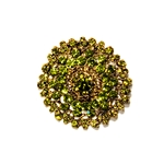 Grand Sage Brooch | Accessories | Bling | Brooches | Haute House Fabric
