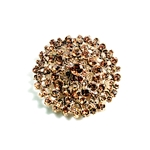 Grand Topaz Brooch | Accessories | Bling | Brooches | Haute House Fabric