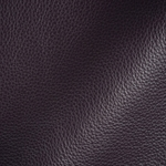 Haute House Fabric - Tut Aubergine - Leather Upholstery Fabric #3410