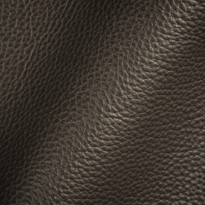 Haute House Fabric - Abalone Dark Brown - Leather Upholstery Fabric #3450