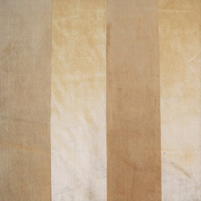 Haute House Fabric - Louise Champagne -Velvet Stripe #3845